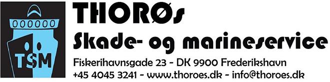 THORØs Skade- og marineservice Logo